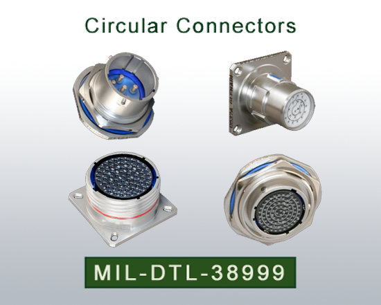 Circular Connectors  MIL-DTL-38999