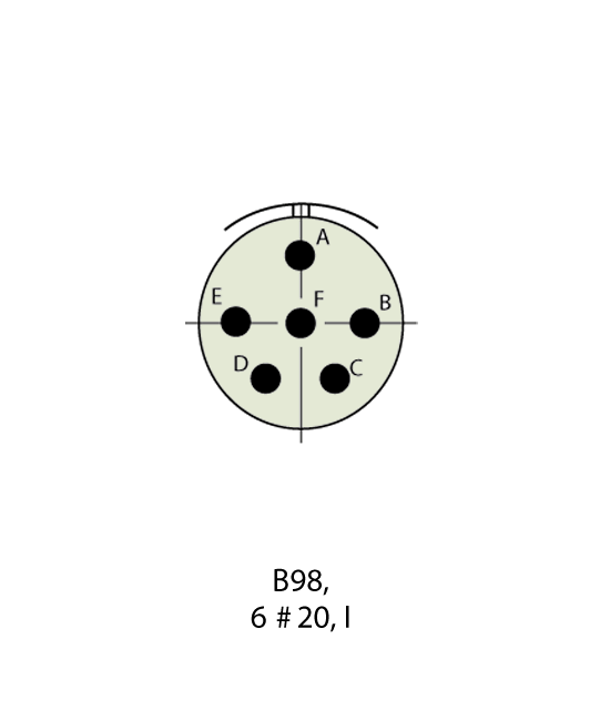D38999/26WB98SN-LC Insert Drawing